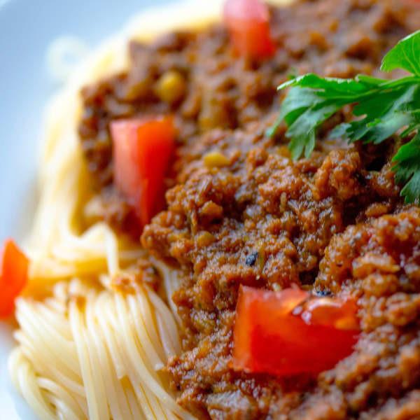 Ragù alla bolognese vegan-ohne Palmöl-