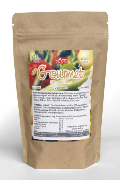 Streuwürze Gourmet -vegan-