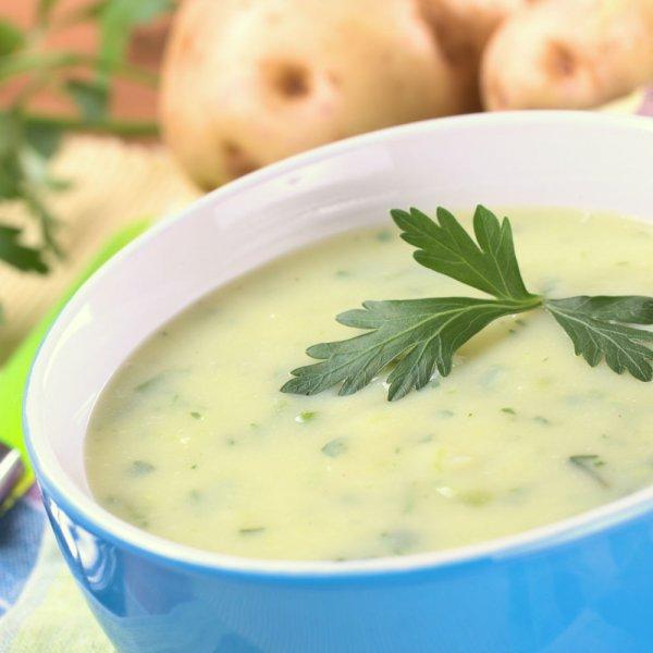 Kartoffel Cremesuppe