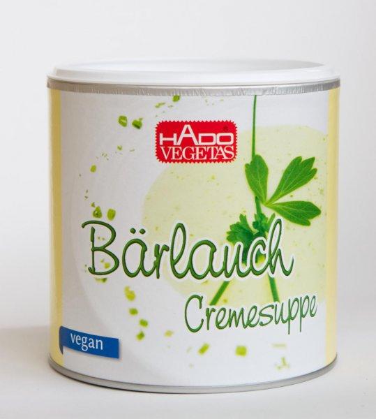 Bärlauch Cremesuppe -vegan-